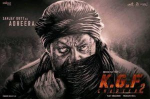 KGF 2 movie release date poster